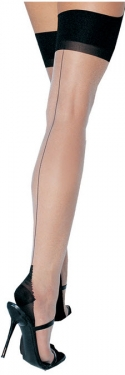 What Did Women Wear in the 1950s? 1950s Fashion Guide Cuban Heel Sheer Stockings $13.99 AT vintagedancer.com