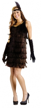 Roaring 20s Costumes- Flapper Costumes, Gangster Costumes Womens Flapper Costume $45.99 AT vintagedancer.com