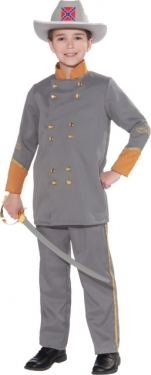 Vintage Style Children's Clothing: Girls, Boys, Baby, Toddler Boys Confederate Office Costume $42.99 AT vintagedancer.com