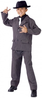 1940s Children's Clothing: Girls, Boys, Baby, Toddler Boys Gangster Costume $48.99 AT vintagedancer.com