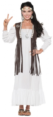 60s Style: How to Recreate the Outfits Womens Hippie Costume $49.99 AT vintagedancer.com