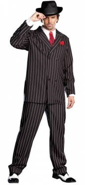 1930s Men's Clothing Mens Gangster Costume $63.97 AT vintagedancer.com