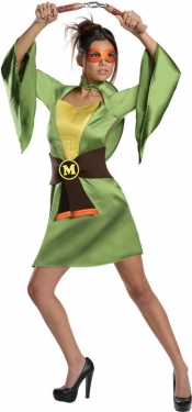 Women's TMNT Michelangelo Costume