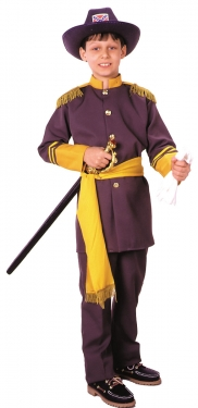 Vintage Style Children's Clothing: Girls, Boys, Baby, Toddler Robert E Lee Boys Costume $54.99 AT vintagedancer.com