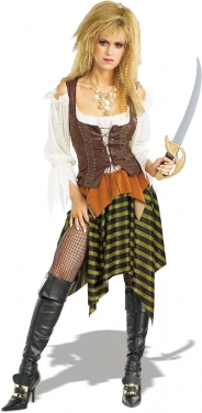 Steampunk Dresses | Women & Girl Costumes Womens Pirate Wench Costume $62.99 AT vintagedancer.com