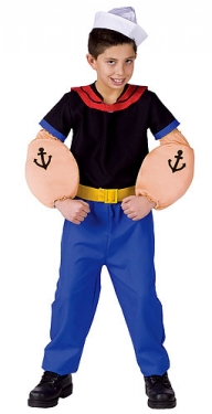 Vintage Style Children's Clothing: Girls, Boys, Baby, Toddler Boys Popeye Costume $33.99 AT vintagedancer.com
