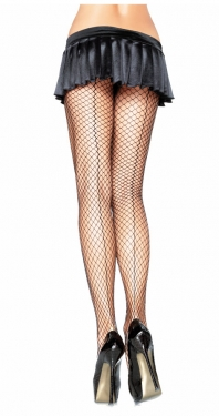 What Did Women Wear in the 1950s? 1950s Fashion Guide Pantyhose Net with Seam Black $9.39 AT vintagedancer.com