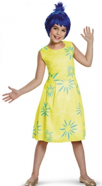 Vintage Style Children's Clothing: Girls, Boys, Baby, Toddler Inside Out Joy Classic Girls Costume $51.99 AT vintagedancer.com