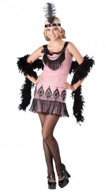 Vintage Style Children's Clothing: Girls, Boys, Baby, Toddler Teen Flapper Costume $42.99 AT vintagedancer.com