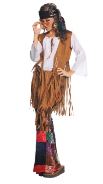 60s Costumes: Hippie, Go Go Dancer, Flower Child Womens Hippie Costume $56.99 AT vintagedancer.com