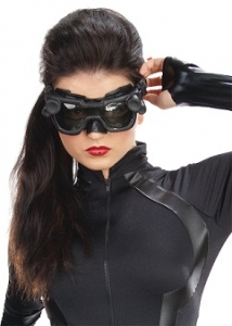 Men's Steampunk Goggles, Guns, Gadgets & Watches Catwoman Mask $31.99 AT vintagedancer.com