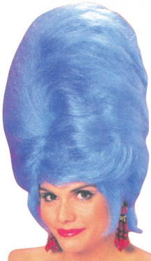 Vintage Hair Accessories: Combs, Headbands, Flowers, Scarf, Wigs Blue Beehive Wig $29.59 AT vintagedancer.com