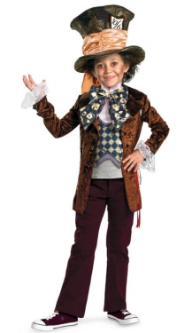 Vintage Style Children's Clothing: Girls, Boys, Baby, Toddler Mad Hatter Boys Costume $70.99 AT vintagedancer.com