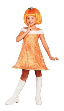 Vintage Style Children's Clothing: Girls, Boys, Baby, Toddler Girls Pumpkin Costume $19.99 AT vintagedancer.com