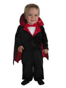 Vintage Style Children's Clothing: Girls, Boys, Baby, Toddler Vampire Infant Costume $29.99 AT vintagedancer.com