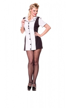 1950s Costumes- Poodle Skirts, Grease, Monroe, Pin Up, I Love Lucy Womens Bowling Costume $14.99 AT vintagedancer.com