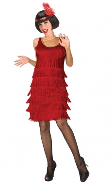 Roaring 20s Costumes- Flapper Costumes, Gangster Costumes Womens Flapper Costume $54.99 AT vintagedancer.com