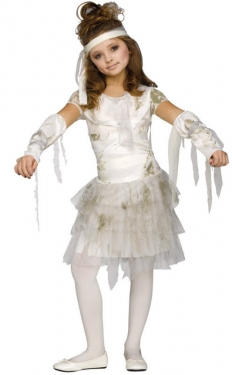 Vintage Style Children's Clothing: Girls, Boys, Baby, Toddler Girls Mummy Costume $32.99 AT vintagedancer.com