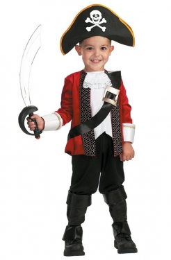 Boy's Pirate Captain Costume