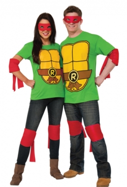 Adult TMNT Raphael Costume Kit