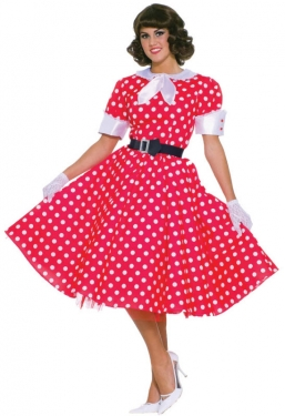 Pin Up Dresses | Pinup Clothing & Fashion Womens 50s Housewife Costume $64.99 AT vintagedancer.com