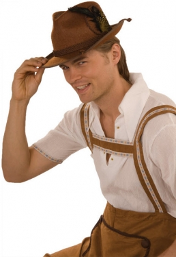 Brown Oktoberfest Hat