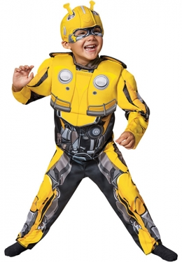 Toddler Transformers Bumblebee Costume