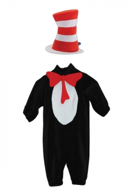 Cat In Hat Toddler Costume