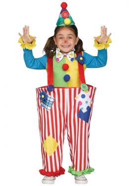 Toddler Crazy Clown Costume