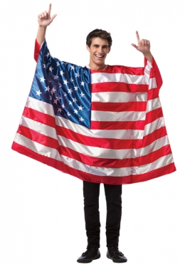 Adult USA Flag Costume