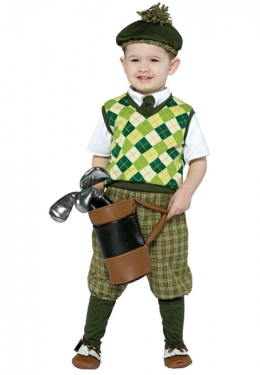 Vintage Style Children's Clothing: Girls, Boys, Baby, Toddler Boys Future Golfer Costume $47.99 AT vintagedancer.com