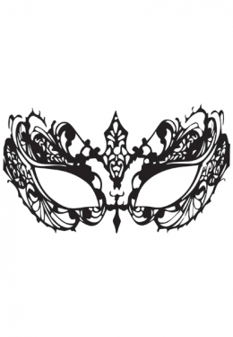 Lace Face Decal Mask