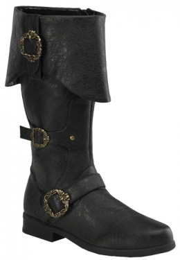 Steampunk Boots and Shoes for Men Caribbean Boots $107.97 AT vintagedancer.com