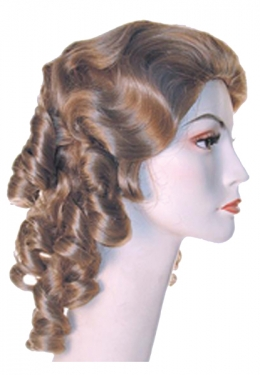 Vintage Hair Accessories: Combs, Headbands, Flowers, Scarf, Wigs Southern Belle Wig $11.99 AT vintagedancer.com