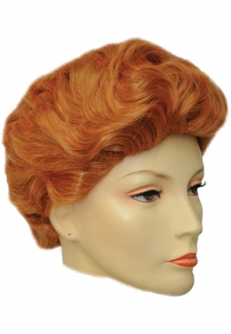 Vintage Hair Accessories: Combs, Headbands, Flowers, Scarf, Wigs Adult Lucy Wig $42.99 AT vintagedancer.com