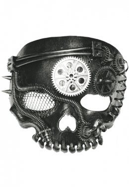Men's Steampunk Goggles, Guns, Gadgets & Watches Steam Punk Mask $37.99 AT vintagedancer.com