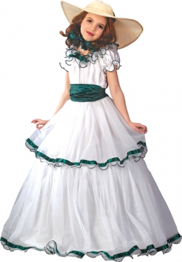 Vintage Style Children's Clothing: Girls, Boys, Baby, Toddler Girls Southern Belle Costume $45.99 AT vintagedancer.com