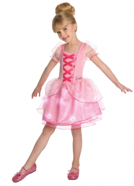 Girl's Barbie Ballerina Costume