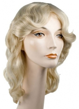 Vintage Hair Accessories: Combs, Headbands, Flowers, Scarf, Wigs Farrah Special Bargain Wig $29.99 AT vintagedancer.com