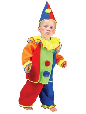 Unisex Bobo the Clown Costume