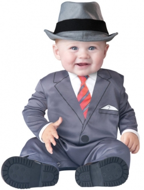 1940s Children's Clothing: Girls, Boys, Baby, Toddler Infant Gangster Costume $19.99 AT vintagedancer.com