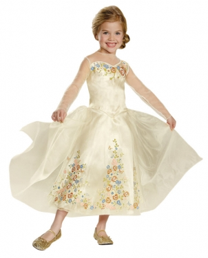 1940s Children's Clothing: Girls, Boys, Baby, Toddler Girls Cinderella Wedding Dress $42.99 AT vintagedancer.com