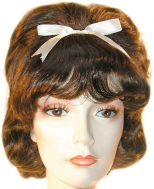 Vintage Hair Accessories: Combs, Headbands, Flowers, Scarf, Wigs Gidget Wig $48.99 AT vintagedancer.com