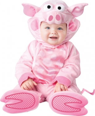 Infant Precious Piggy Costume