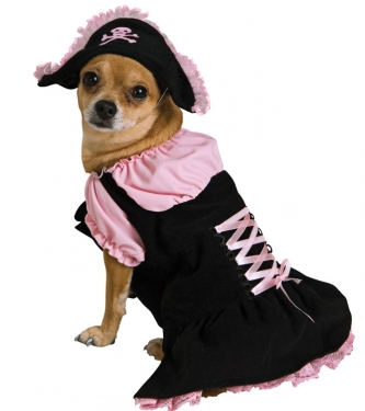 Pink Pirate Pet Costume