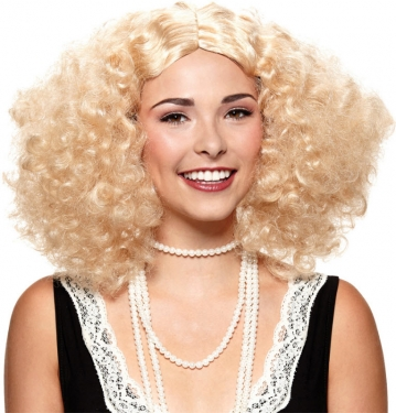 Vintage Hair Accessories: Combs, Headbands, Flowers, Scarf, Wigs Embrace The Frizz Wig $23.79 AT vintagedancer.com