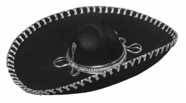 Oversized Sombrero Hat