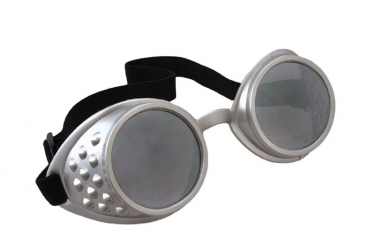 Men's Steampunk Goggles, Guns, Gadgets & Watches Aviator Goggles $10.99 AT vintagedancer.com