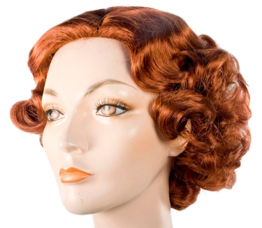 Vintage Hair Accessories: Combs, Headbands, Flowers, Scarf, Wigs 1930s Starlet Movie Star Wig $57.99 AT vintagedancer.com