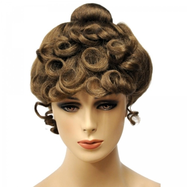 Vintage Hair Accessories: Combs, Headbands, Flowers, Scarf, Wigs Gibson Girl Wig $50.99 AT vintagedancer.com